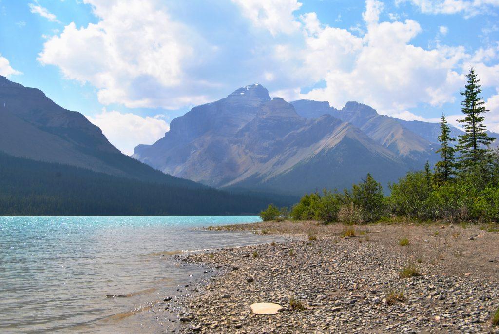 Brazeau Lake Campsite on the Brazeau Loop in Jasper NP