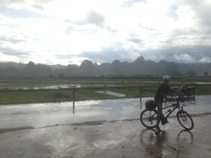 Biking in Vietnam on the Ho Chi Minh Road