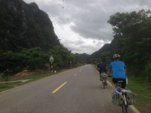Biking in Vietnam