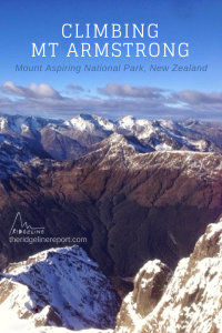Summit Mt Armstrong in New Zealand