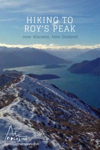 Hike to Roy's Peak, New Zealand