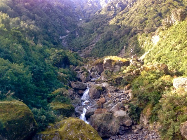 River on the Copland Track in New Zealand