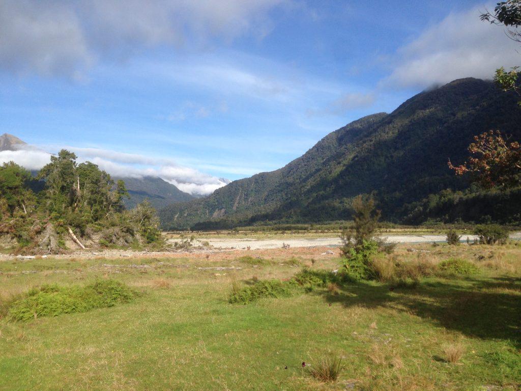 Copland Track views at the trailhead