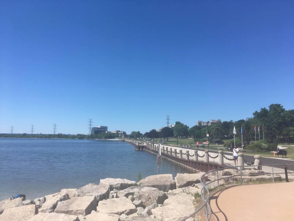 Waterfront in Burlington, Ontario