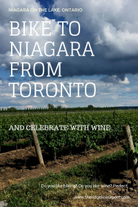 Bike from Toronto to Niagara