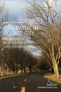Biking in Quebec City